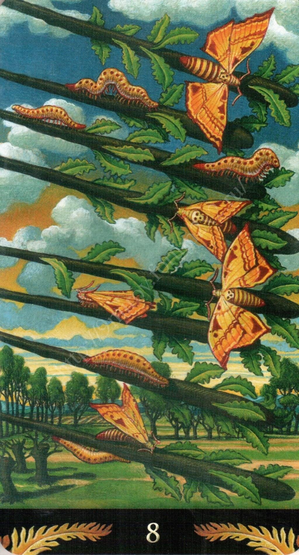 Таро Прерафаэлитов (Pre-Raphaelite Tarot) Галерея Water434