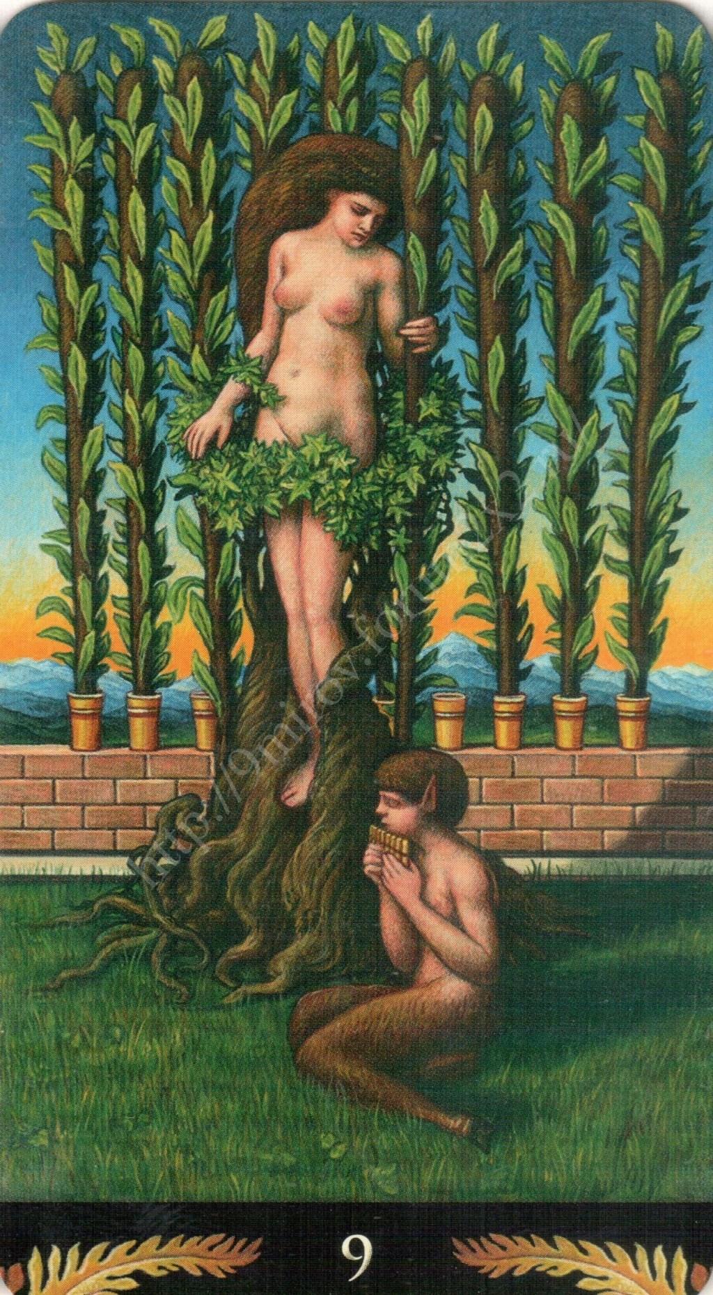 Таро Прерафаэлитов (Pre-Raphaelite Tarot) Галерея Water435