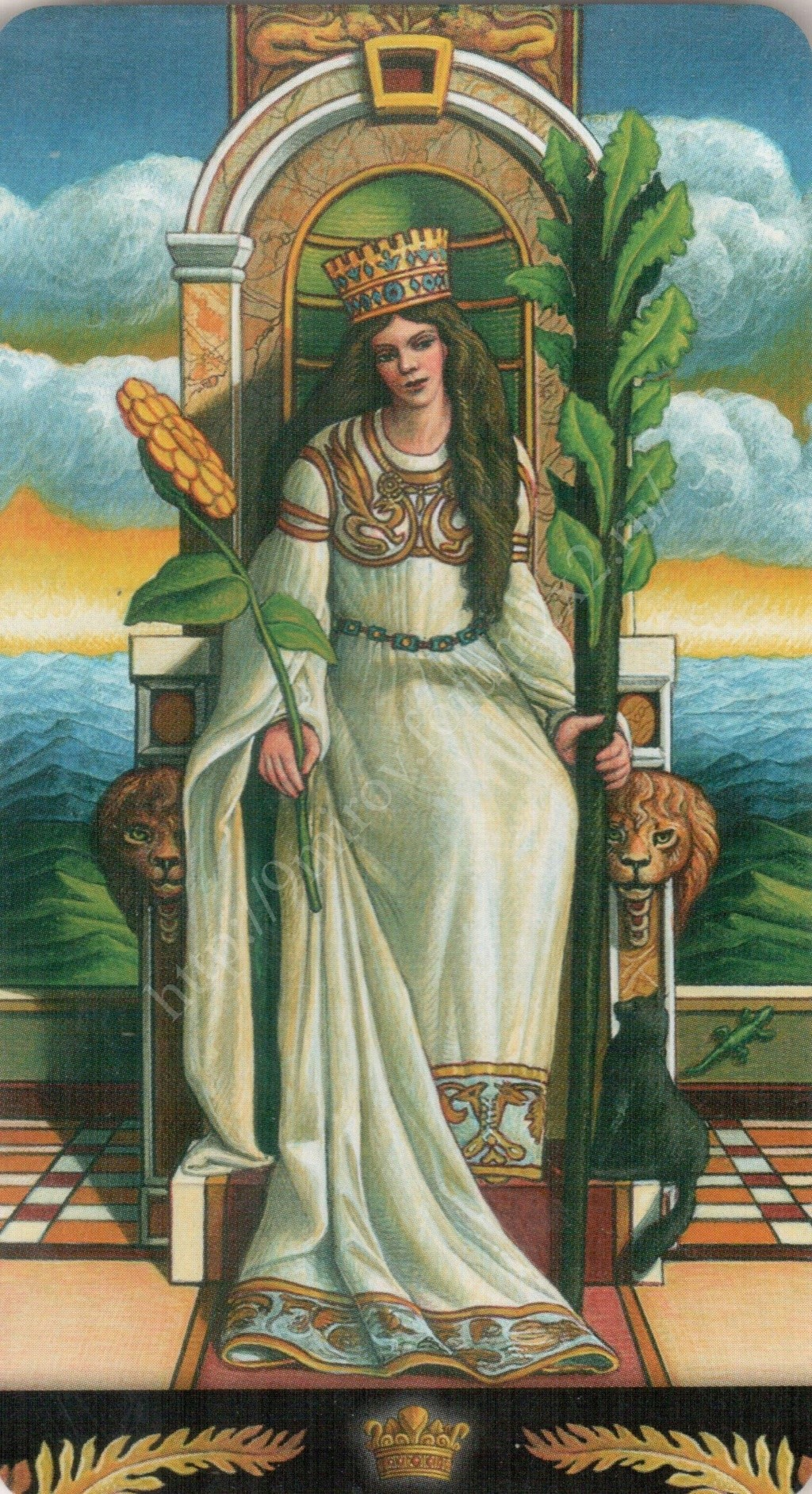 Таро Прерафаэлитов (Pre-Raphaelite Tarot) Галерея Water440