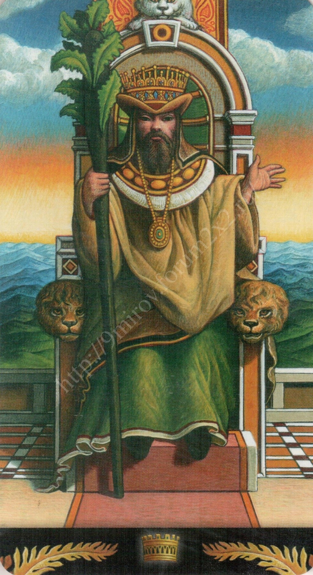 Таро Прерафаэлитов (Pre-Raphaelite Tarot) Галерея Water441