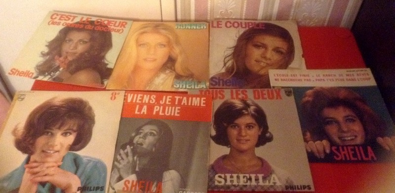 les disques vinyles 45t / 33T Sheila11