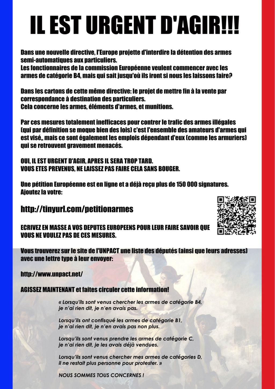 les nouveaux décrets franco français  Tract210