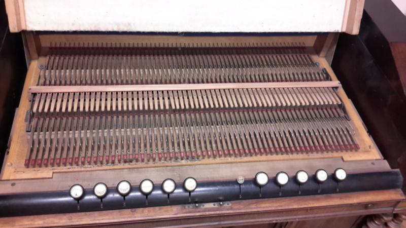 Debain cdfo - Harmonium Debain 4 ejux 1/2 sur deux claviers (1876) 20171212