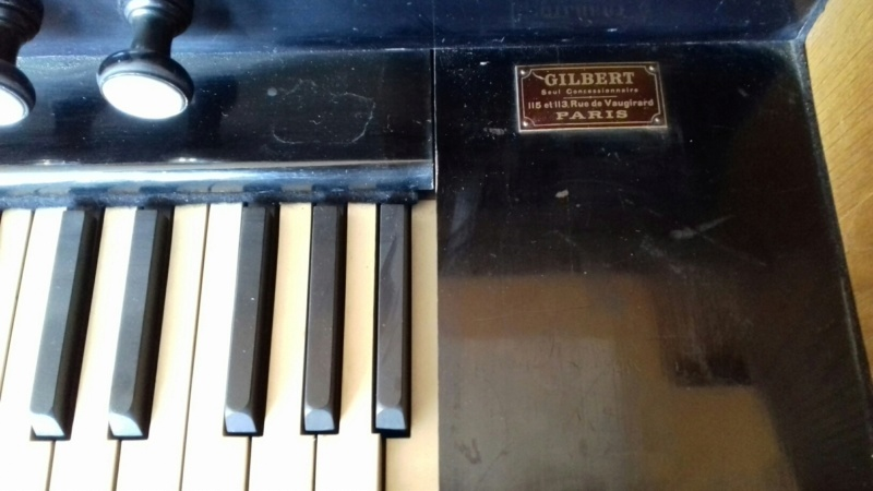 Reed organ Melodian à vendre à Paris 20190311
