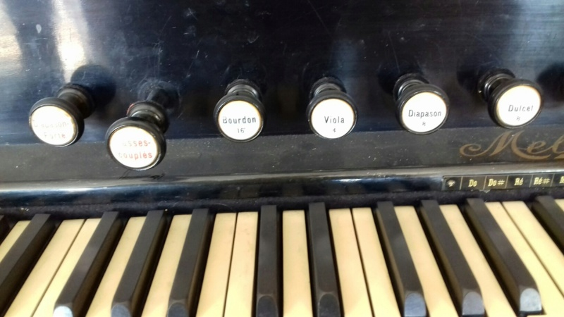 Reed organ Melodian à vendre à Paris 20190313