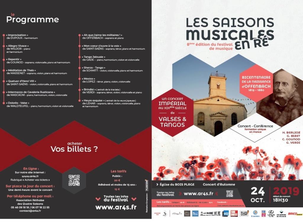 L'Harmonium français en concert à l'Île de Ré 24/10/2018 à 18h30 Deplia12