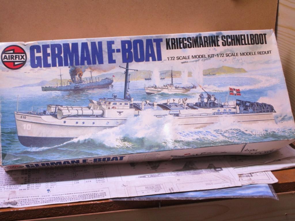 """La """"drôle de guerre"""" sur mer. E-boat (Schnellboot / S-boot) Airfix & Arado Revell 1/72ème. Img_1613"""