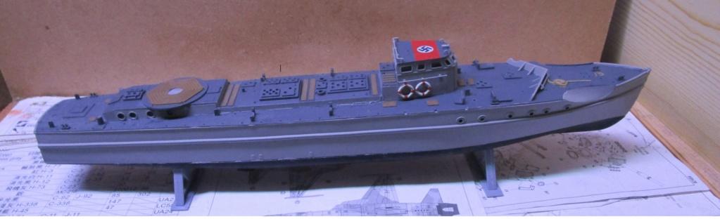 """La """"drôle de guerre"""" sur mer. E-boat (Schnellboot / S-boot) Airfix & Arado Revell 1/72ème. Img_1653"""