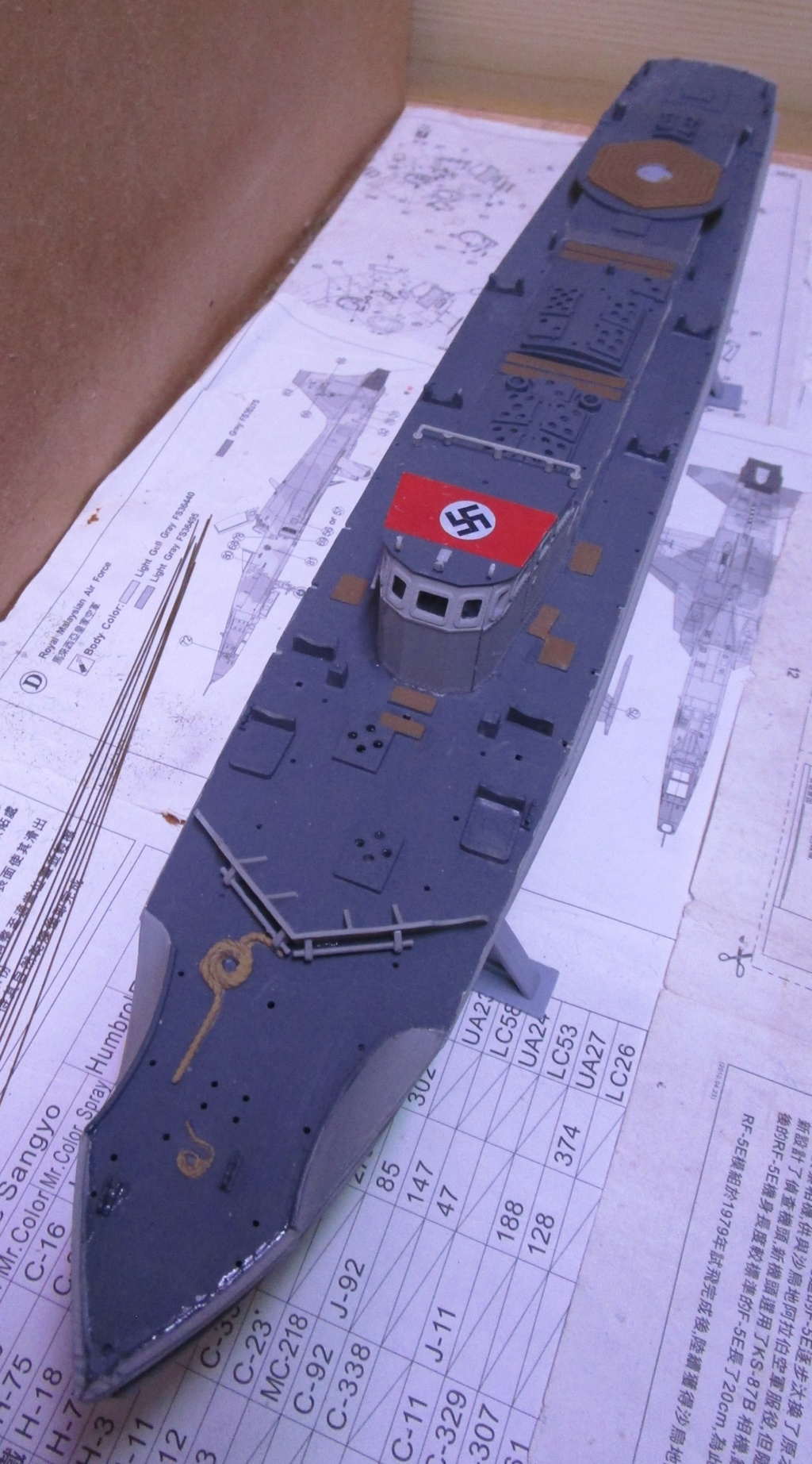 """La """"drôle de guerre"""" sur mer. E-boat (Schnellboot / S-boot) Airfix & Arado Revell 1/72ème. Img_1655"""