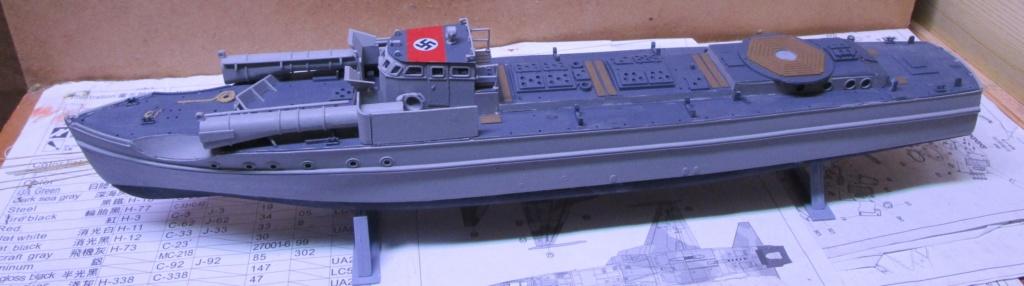 """La """"drôle de guerre"""" sur mer. E-boat (Schnellboot / S-boot) Airfix & Arado Revell 1/72ème. Img_1669"""