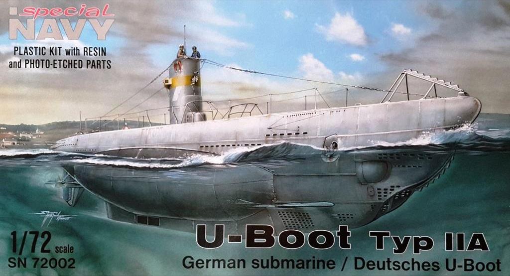 """""""Drôle de guerre"""" sur mer II - U-Boot type IIA Special Navy - Vindicator Azur 1/72 Spec-s11"""