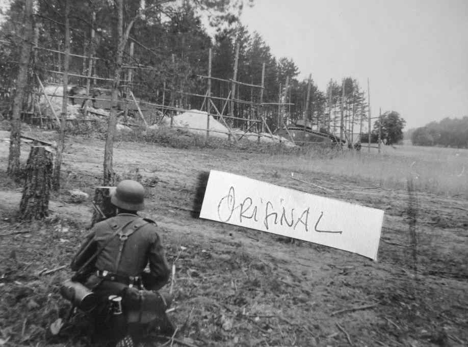 Nos chars Lourds B1-B1bis aux mains des Allemands. 112-0110