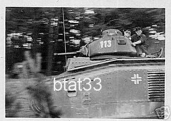 Nos chars Lourds B1-B1bis aux mains des Allemands. 113-0110