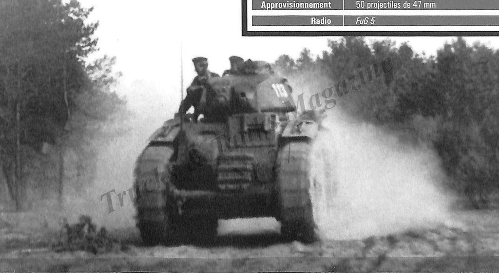 Nos chars Lourds B1-B1bis aux mains des Allemands. 113-0410
