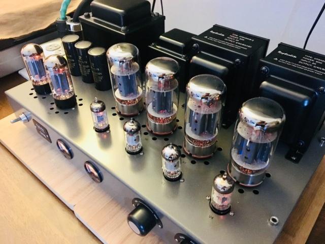Raphaelite CP65 integrated push-pull vacuum tube amplifier 56494310