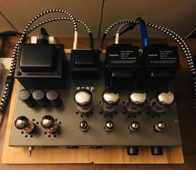 Raphaelite CP65 integrated push-pull vacuum tube amplifier 57114810