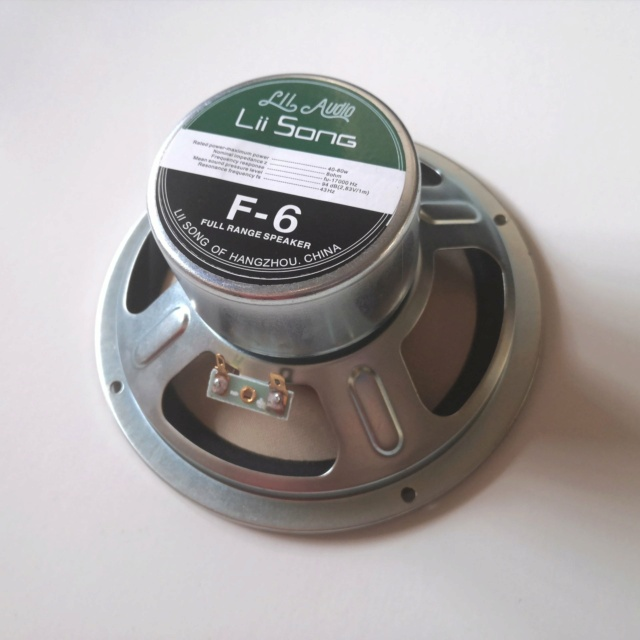 Lii Audio F-6 Fullrange Driver (6 inches) F6-410