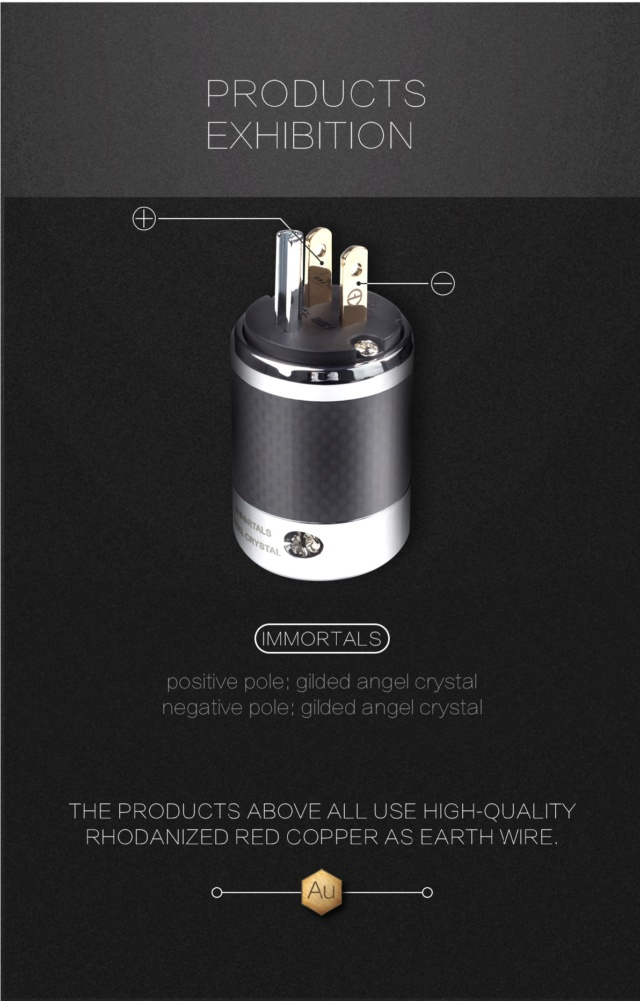 Plugplus US Standard Power Plug & IEM Plug Fantasy Series - Immortal Immort17