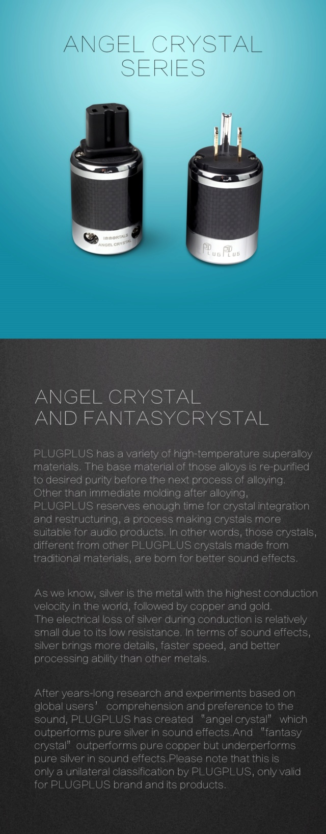 Plugplus US Standard Power Plug & IEM Plug Fantasy Series - Immortal Immort18