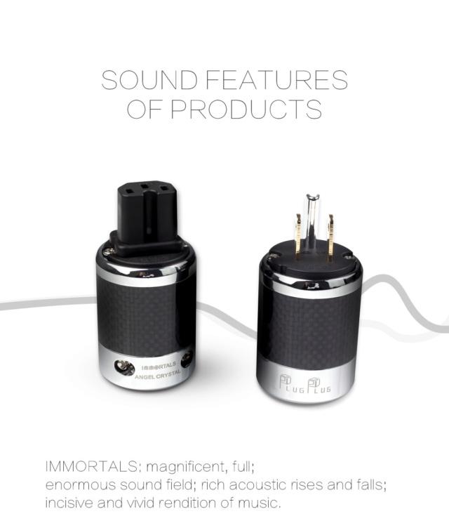 Plugplus US Standard Power Plug & IEM Plug Fantasy Series - Immortal Immort19