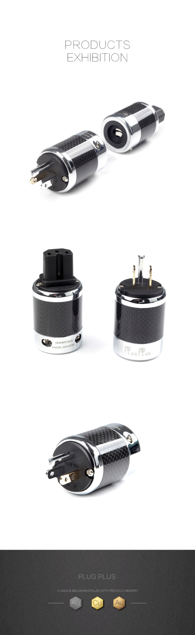 Plugplus US Standard Power Plug & IEM Plug Fantasy Series - Immortal Immort20