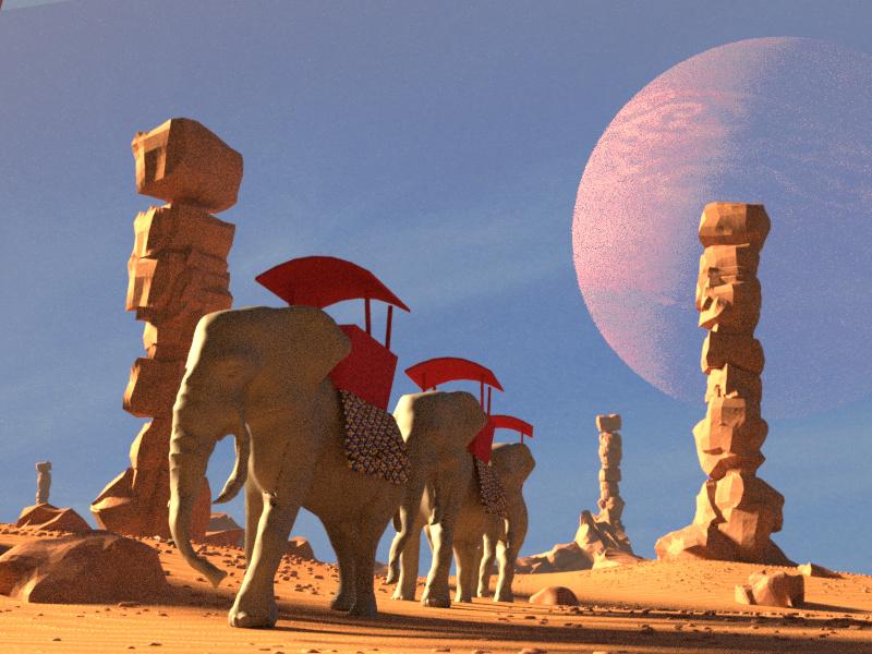 Dans le désert d'Acongalu Carava10