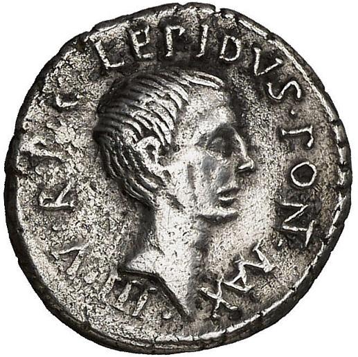 Semis tipo Sacerdos, s. I a.c. Lepido11