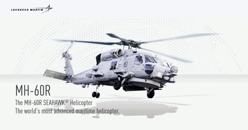 روميو في سماء البحار – المروحية MH-60R Seahawk 1-mh-610
