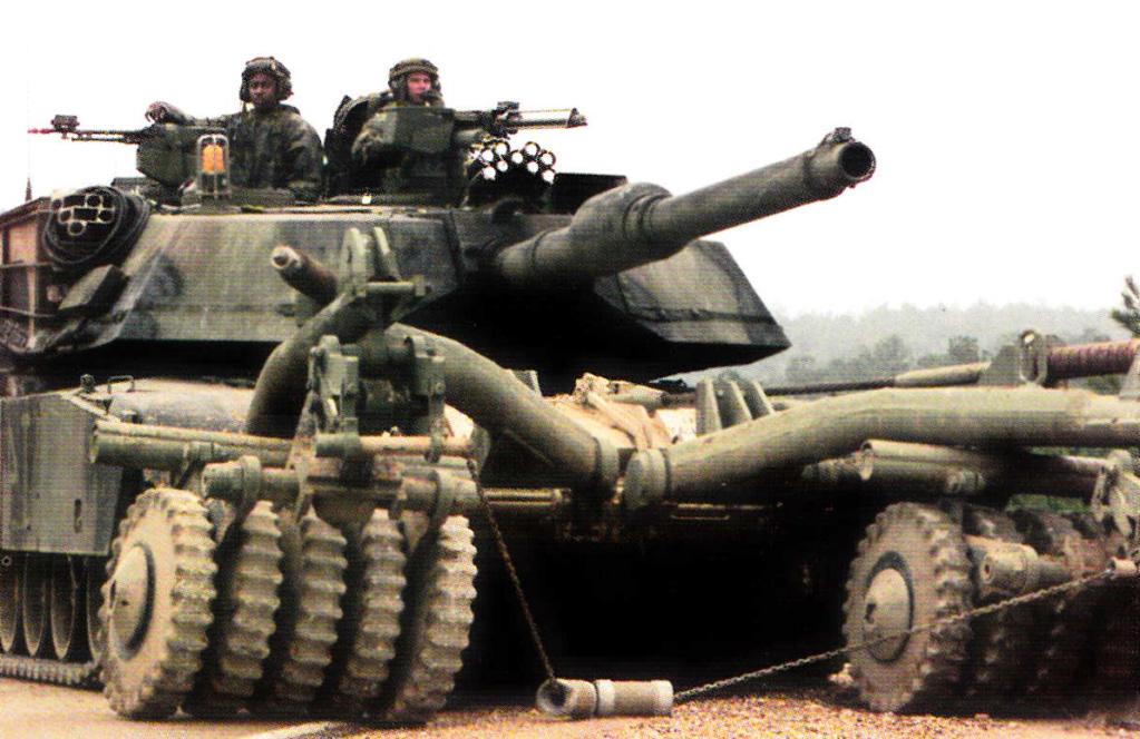 مدفع عيار 140 ملم للأبرامز.. ماله؟ وماعليه؟ - صفحة 2 Abrams16