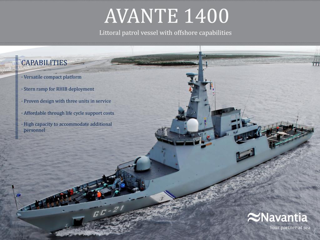 بقيمة 260 مليون أورو.. إسبانيا تفاوض المغرب لبيعه سفينتين Avante10