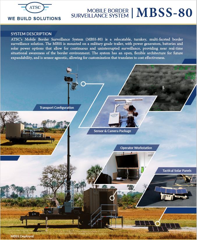 مصر تشتري نظام Martime Domain Awareness System و انظمة طائرات بدون طيار مع مناطيد استطلاع من الولايات المتحدة Mbss-810