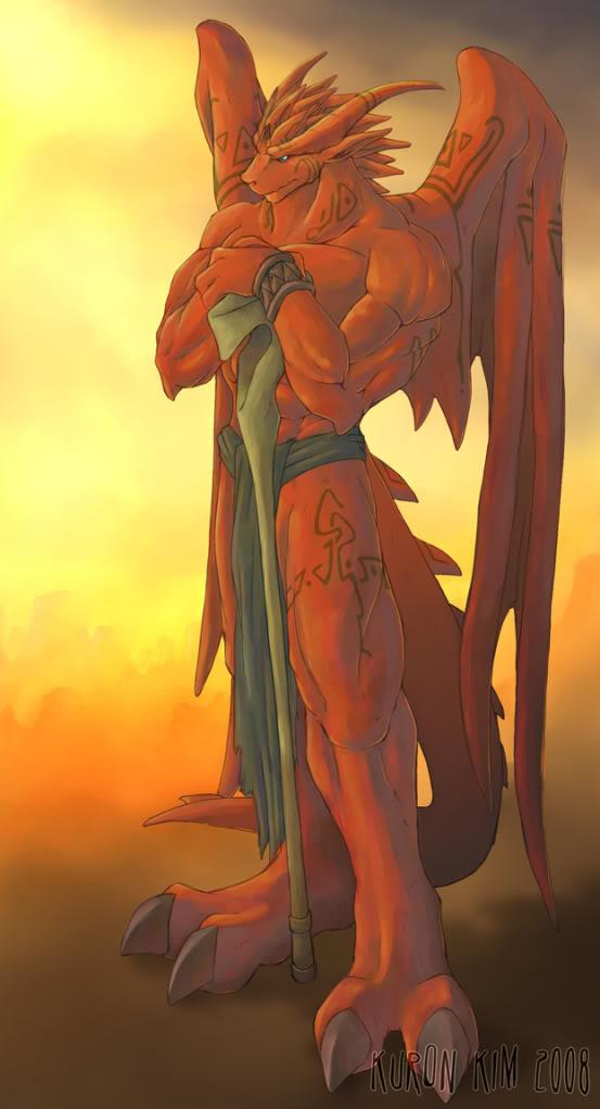 Rhisiart Orwen, el dragón desgraciado 14249710