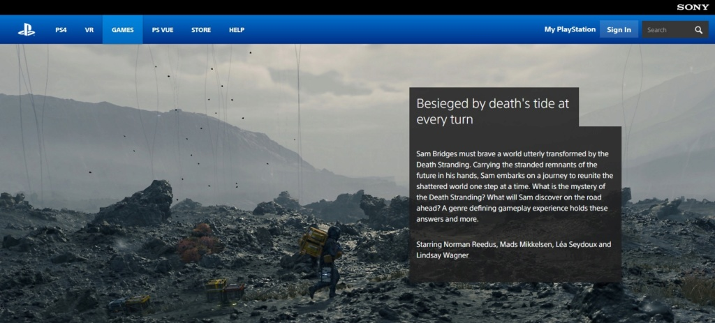 Sony revela algunos detalles de la historia de Death Stranding Sin_tz10