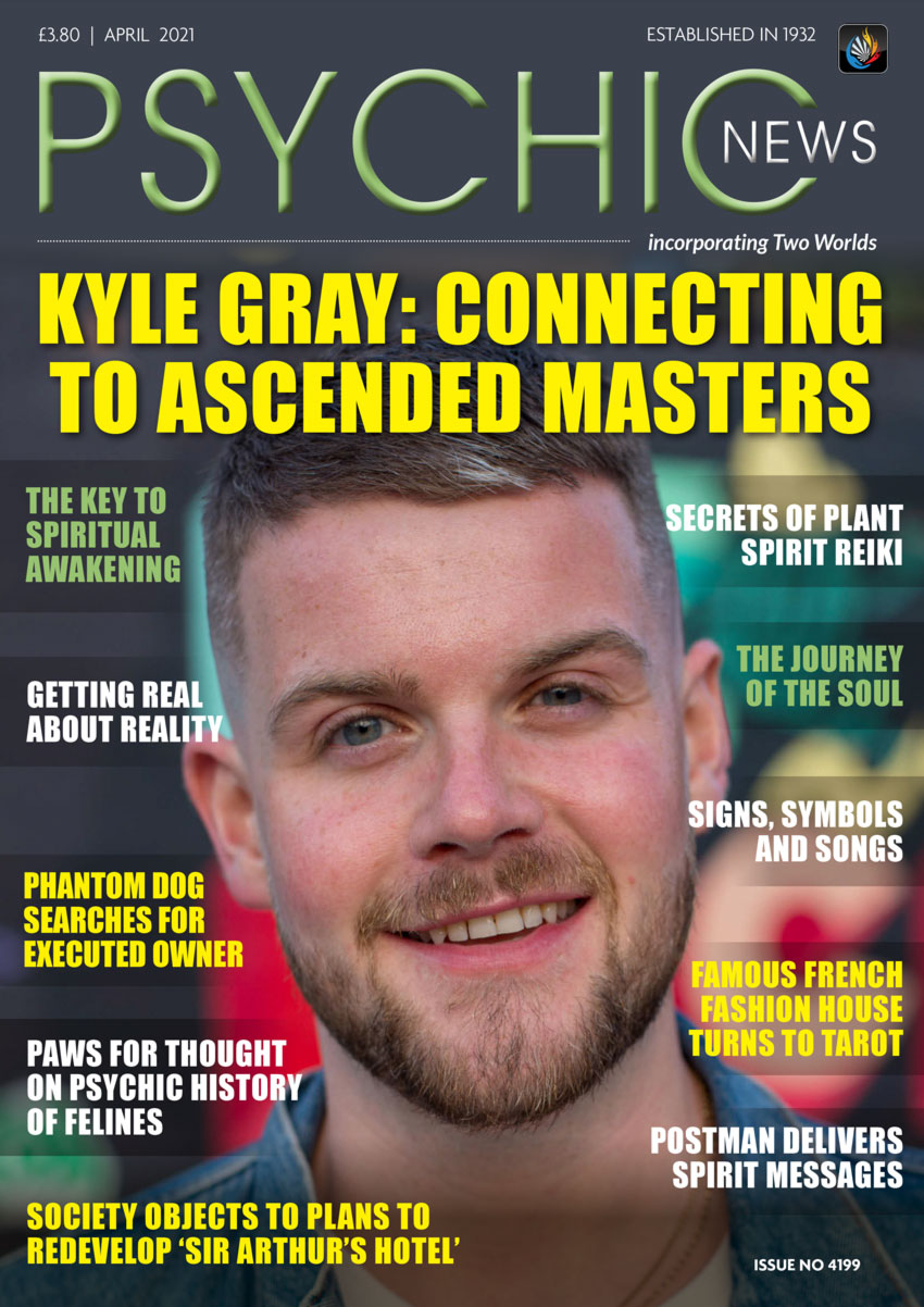 Psychic News - April 2021 Cover110