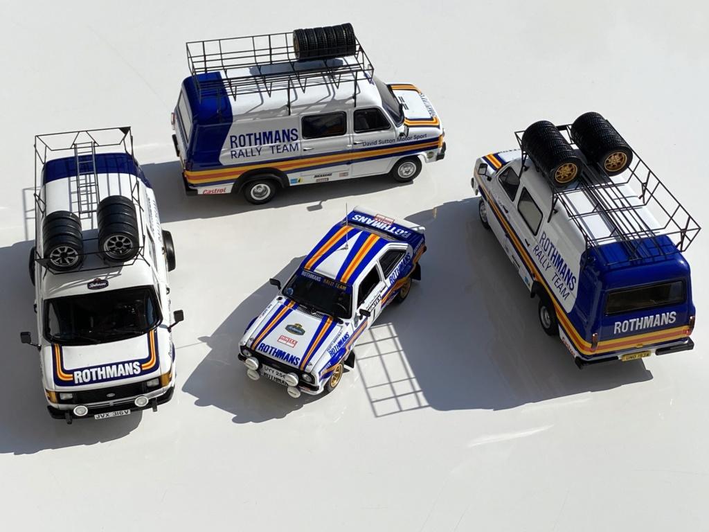Ford Escort MK2 Rothmans + Ford Transit Service Vans Img_0313