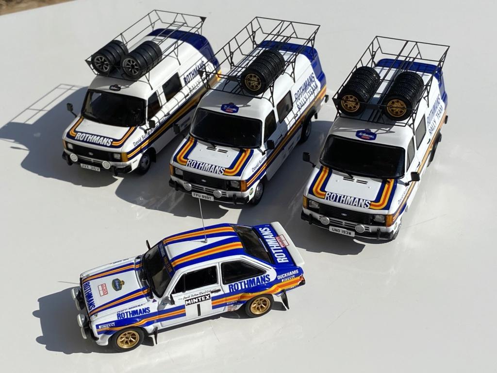Ford Escort MK2 Rothmans + Ford Transit Service Vans Img_0314