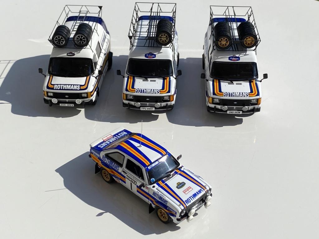 Ford Escort MK2 Rothmans + Ford Transit Service Vans Img_0315