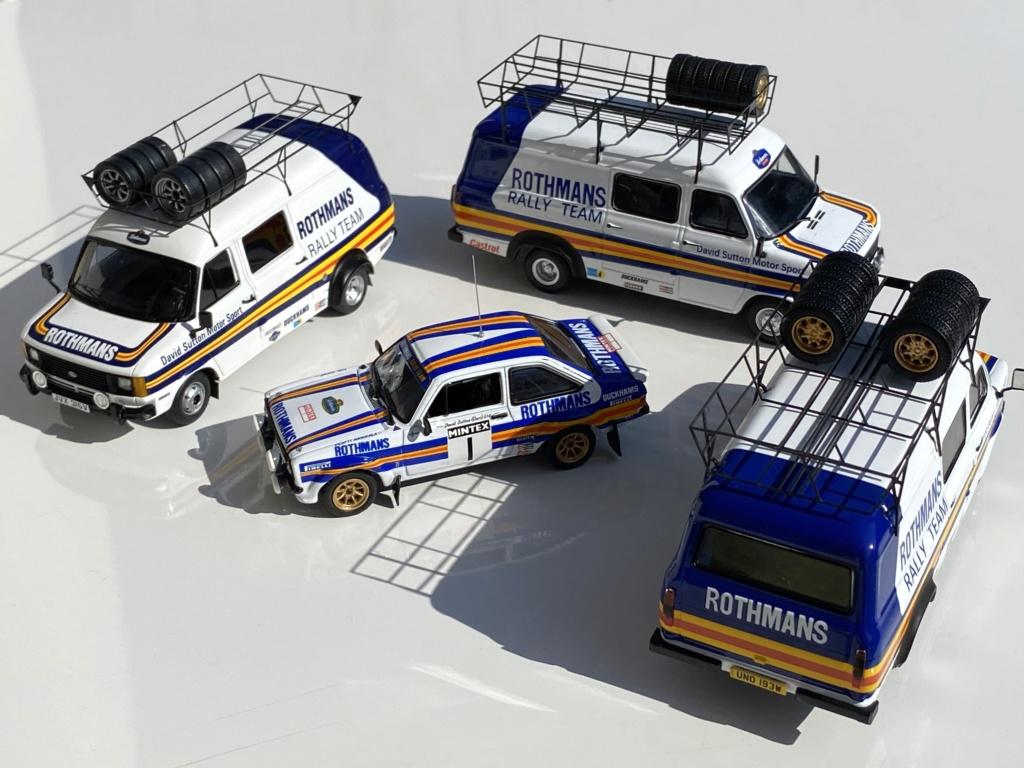 Ford Escort MK2 Rothmans + Ford Transit Service Vans Img_0316