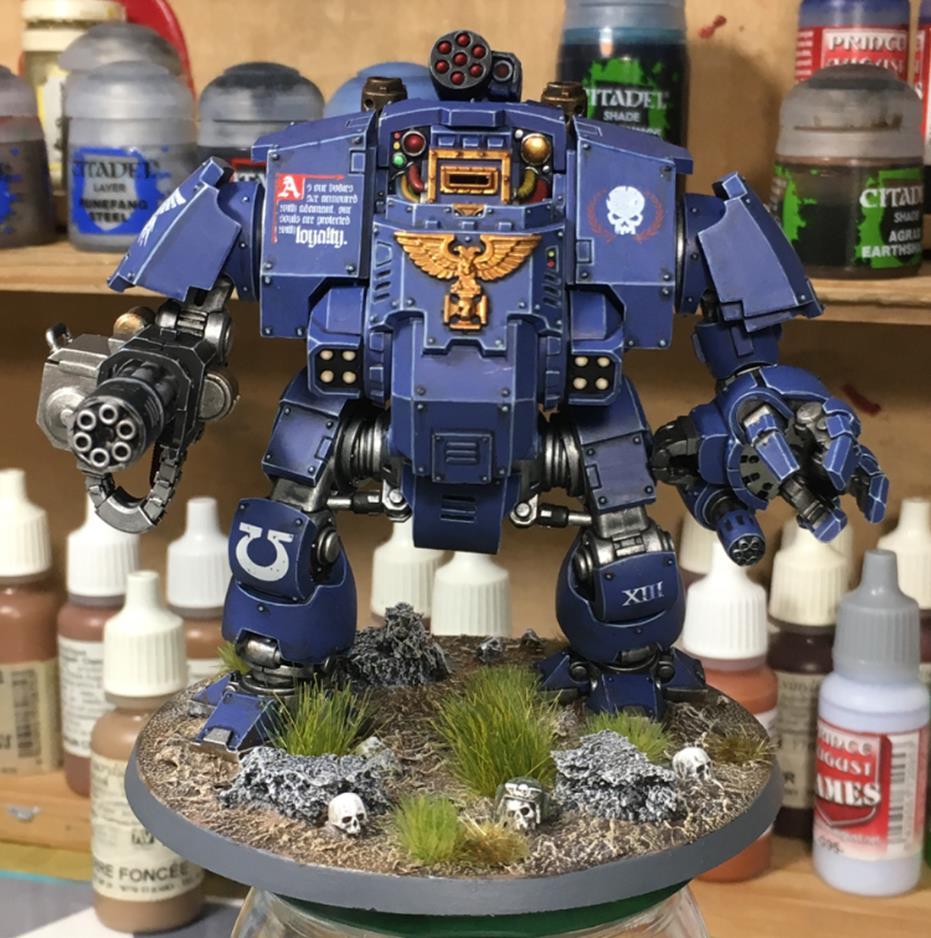 Warhammer 40K Ultramarine Img_e510