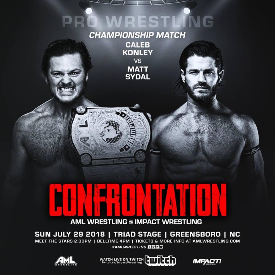 AML Wrestling VS Impact Wrestling - Confrontation 29 Juillet 2018 Aml210