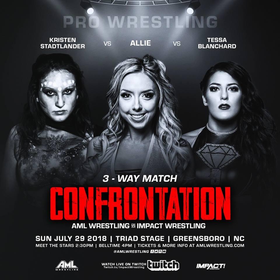 AML Wrestling VS Impact Wrestling - Confrontation 29 Juillet 2018 Aml310