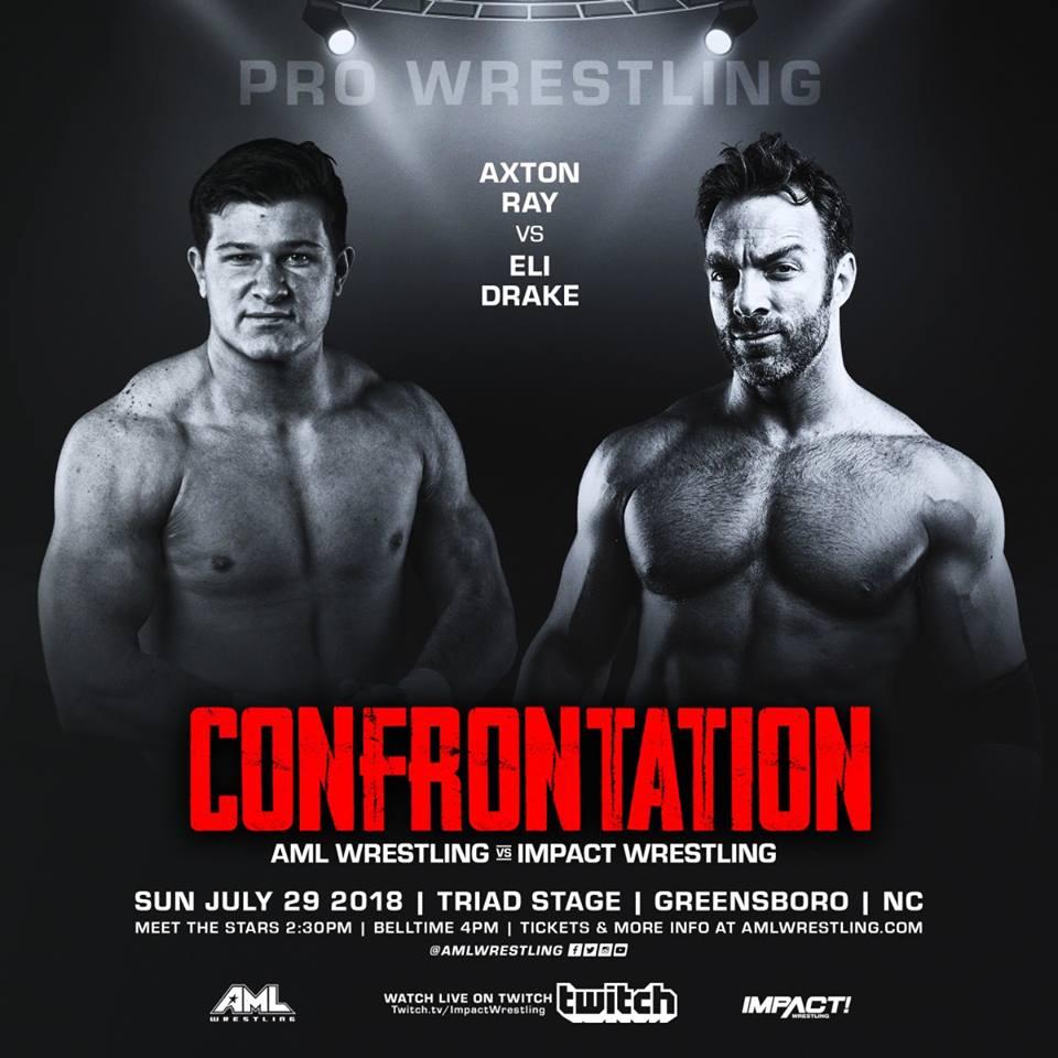 AML Wrestling VS Impact Wrestling - Confrontation 29 Juillet 2018 Aml410