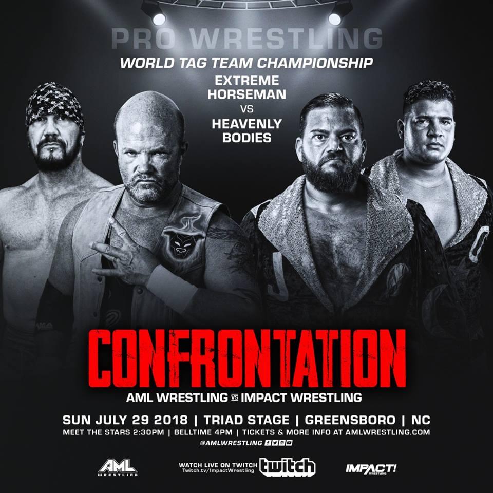 AML Wrestling VS Impact Wrestling - Confrontation 29 Juillet 2018 Aml610
