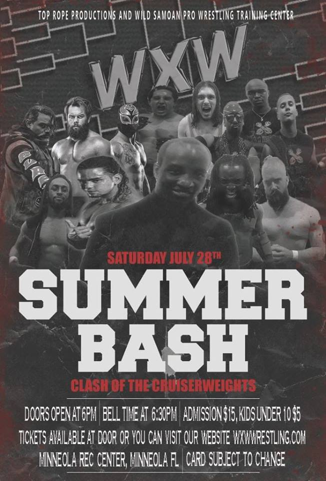 """WXW """"Summer Bash"""" 28 Juillet 2018 Wxw10"""