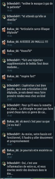 [C.H.U] Rapport d'actions RP de btheobd41 615