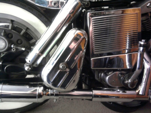 Tool Box sur Shovelhead. Photo011