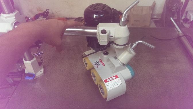 Modification Entraîneur Lurem AF32 – pivot 360 ° de l'ensemble moteur/roues 1_rota10