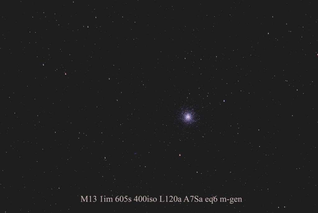 Test autoguidage M-GEN sur M13 M13_1i10