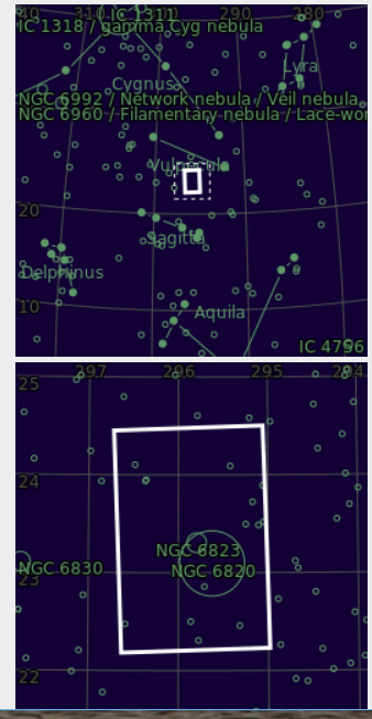 NGC 6820 et 6823 Ramilies 06 08 2018 Ngc68211