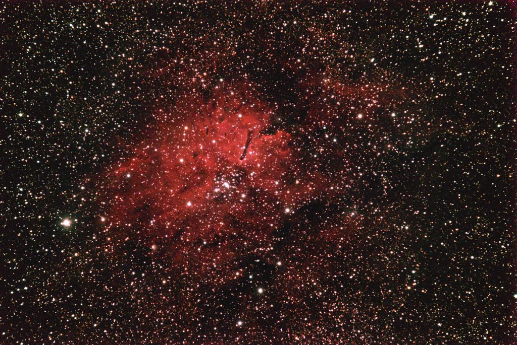 NGC6823 nébuleuse et amas ouvert Ngc68213